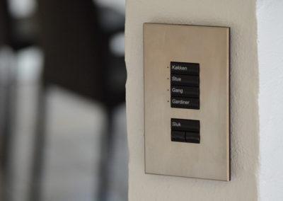 Lutron keypad