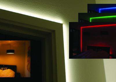 Lysstyring RGB Led